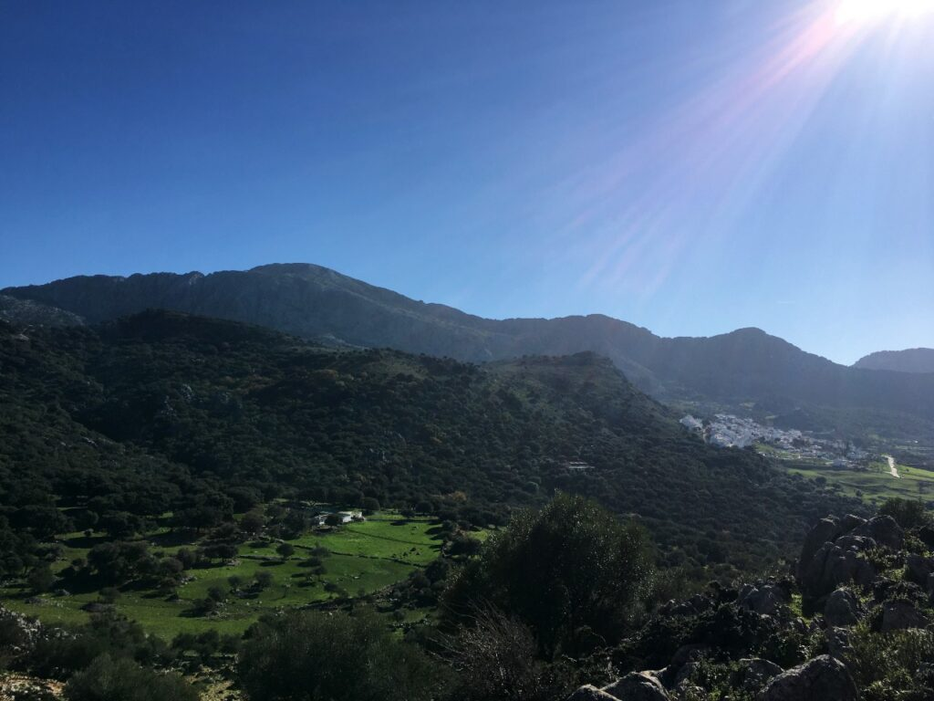 Vistas de la sierra