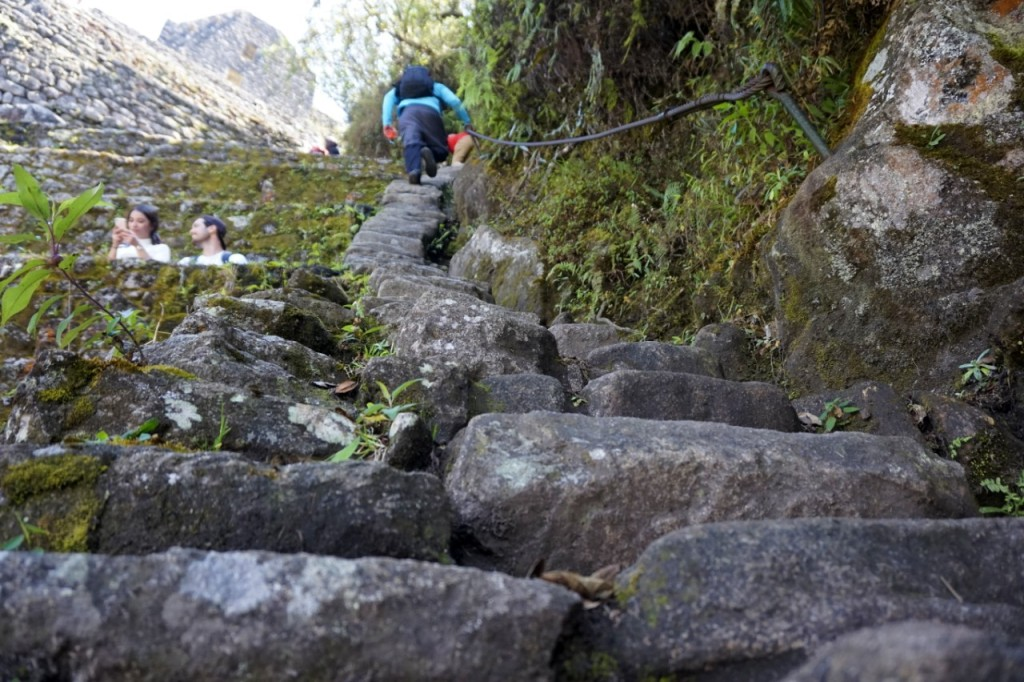 Huayna Picchu - Escaleras de la muerte